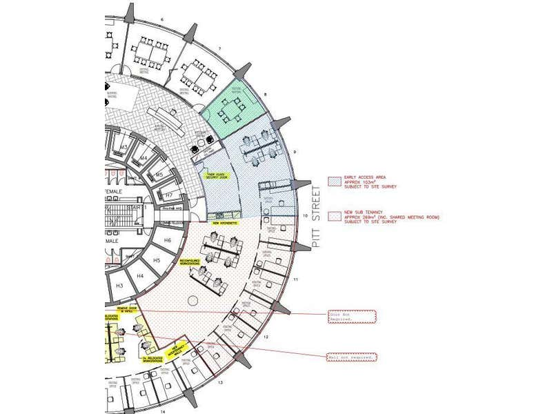 Australia Square, Level 30, 264 George Street Sydney NSW 2000 - Floor Plan 1