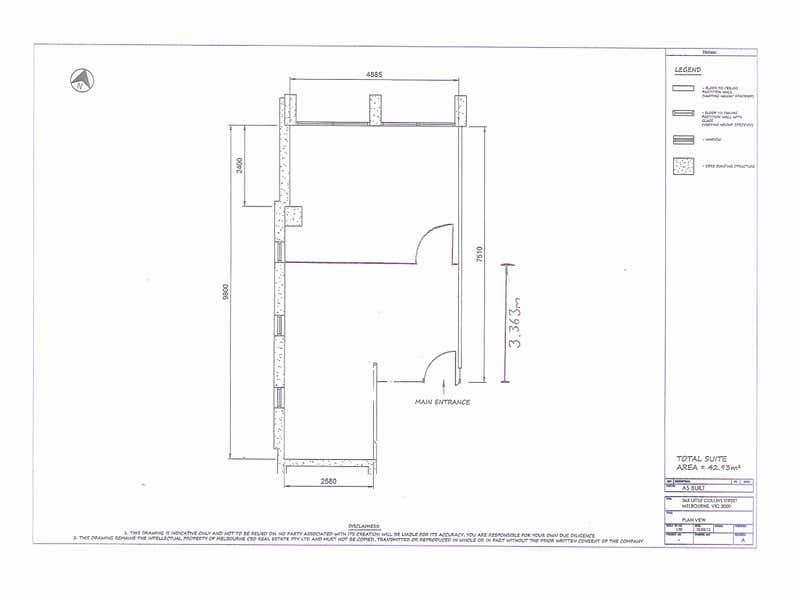 120/365 Little Collins Street Melbourne VIC 3000 - Floor Plan 1
