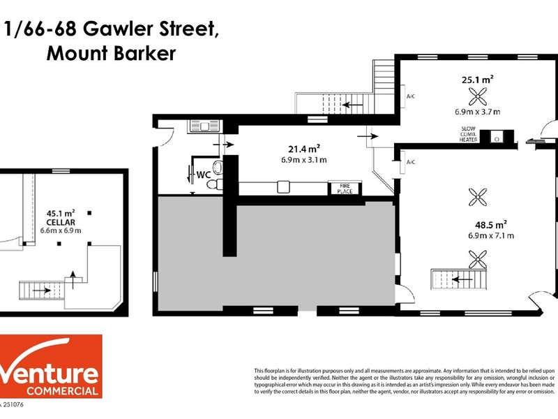 1/68 Gawler Street Mount Barker SA 5251 - Floor Plan 1