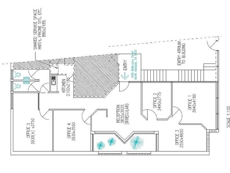 Level 1, 248b Melbourne Street North Adelaide SA 5006 - Floor Plan 1