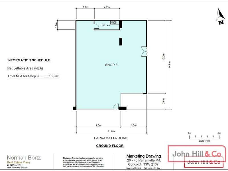 Shop 3/29-45 Parramatta Road Concord NSW 2137 - Floor Plan 1