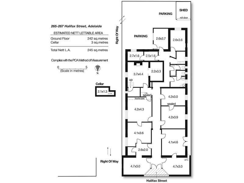 265-267 Halifax Street Adelaide SA 5000 - Floor Plan 1
