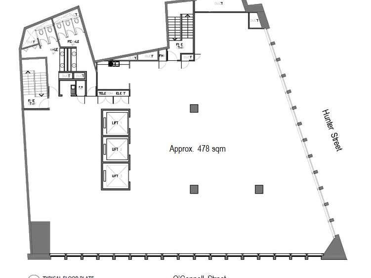 28 O'Connell Street Sydney NSW 2000 - Floor Plan 1