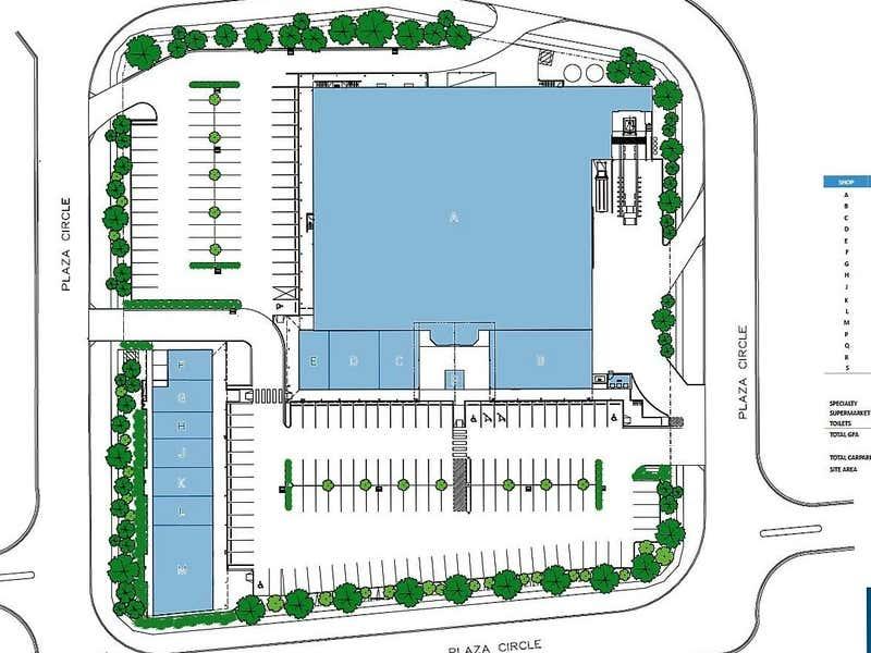 HIGHFIELDS PLAZA, E, 1 Plaza Circle Highfields Toowoomba City QLD 4350 - Floor Plan 1