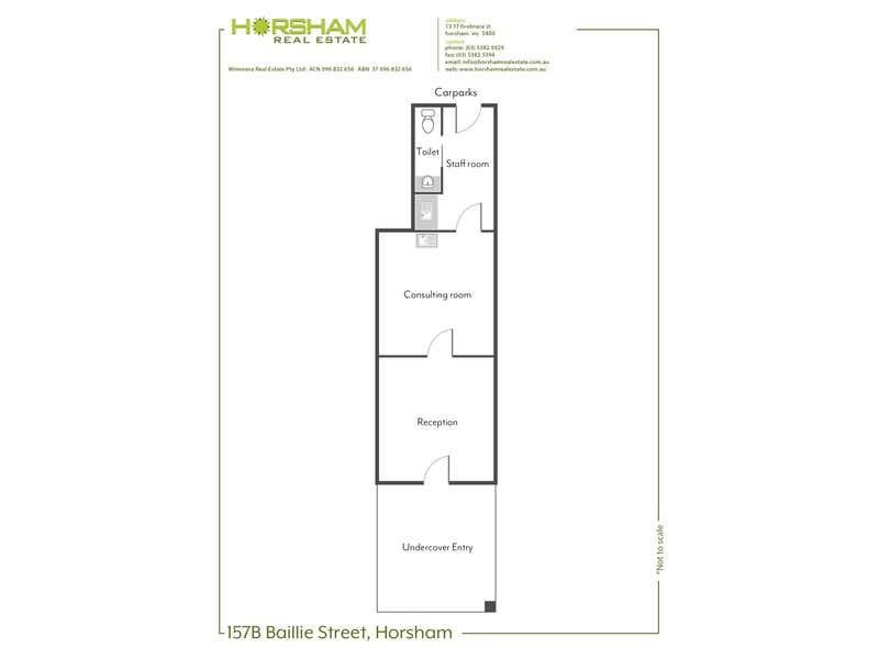 157B Baillie Street Horsham VIC 3400 - Floor Plan 1