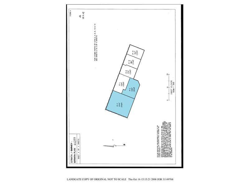 Unit 6, 38 Colin Street West Perth WA 6005 - Floor Plan 1