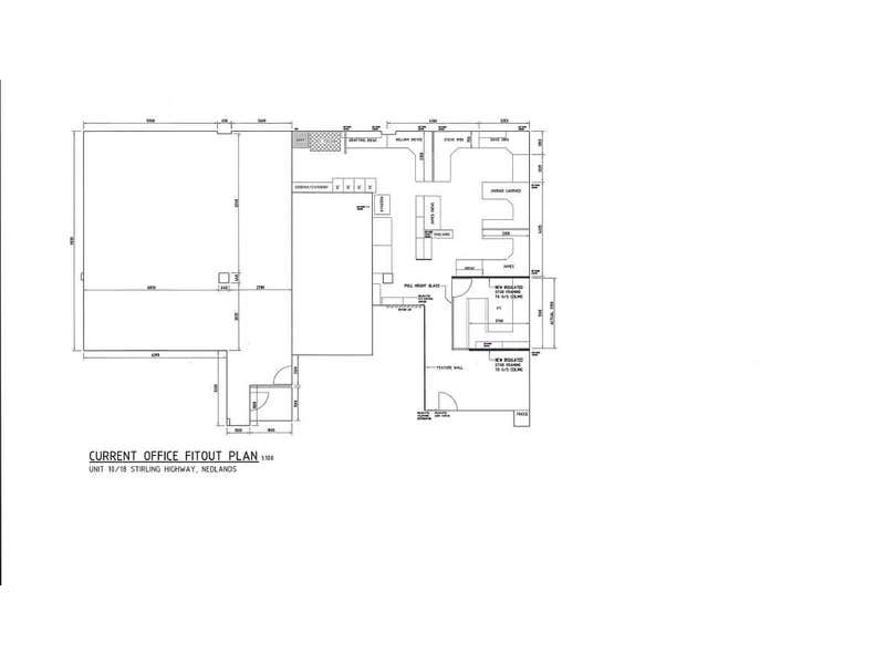 Nedlands Office Centre, Suite 10, 18 Stirling Highway Nedlands WA 6009 - Floor Plan 1