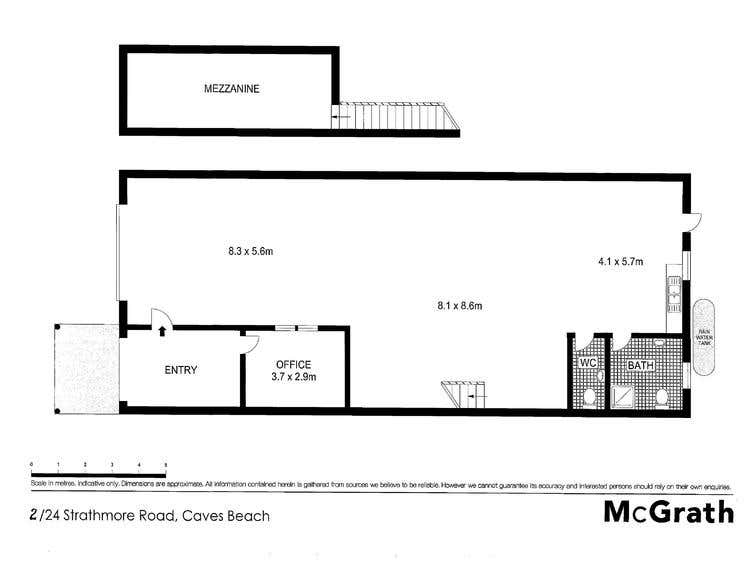4/24 Strathmore Road Caves Beach NSW 2281 - Floor Plan 1