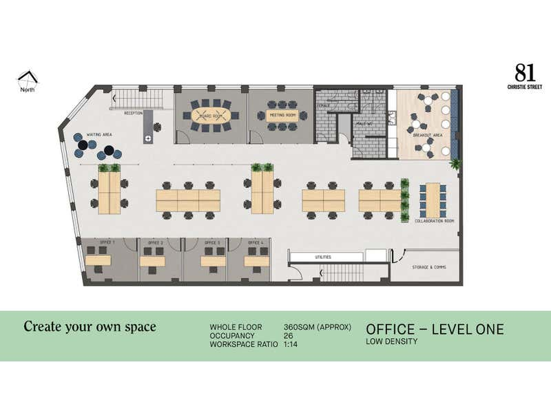 81 Christie Street St Leonards NSW 2065 - Floor Plan 2