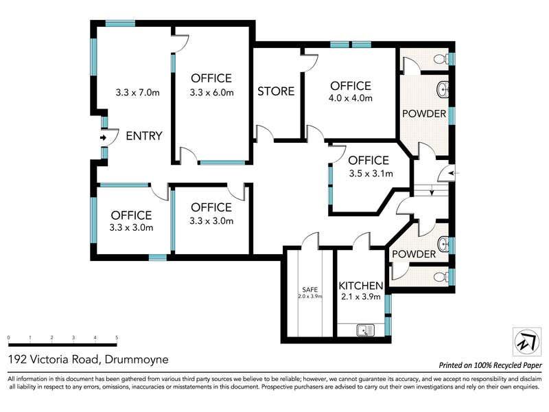 Level Ground Lev, 192 Victoria Road Drummoyne NSW 2047 - Floor Plan 1