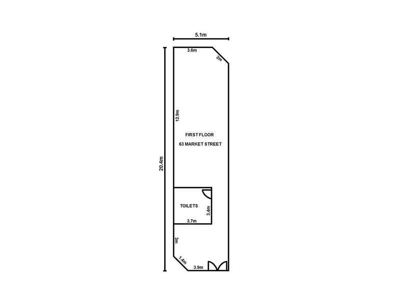 Level 1, 63 Market Street Fremantle WA 6160 - Floor Plan 1