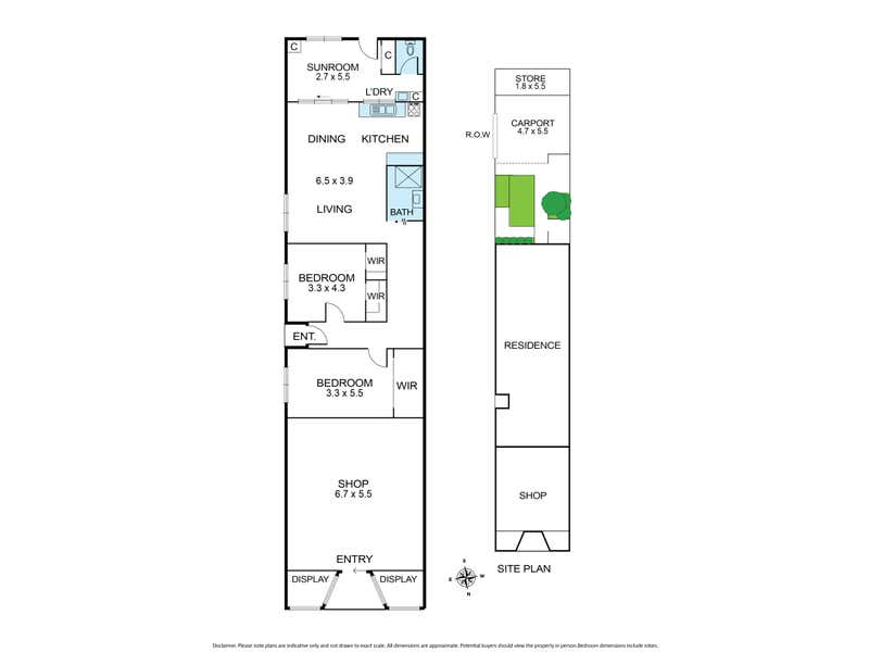42 Harding Street Coburg VIC 3058 - Floor Plan 1