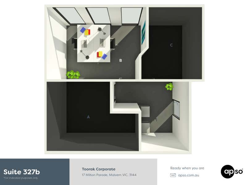 Toorak Corporate, 327b/17-32 Milton Parade Malvern VIC 3144 - Floor Plan 1