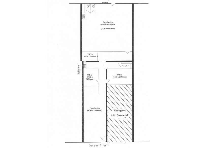 207 Bazaar Street Maryborough QLD 4650 - Floor Plan 1