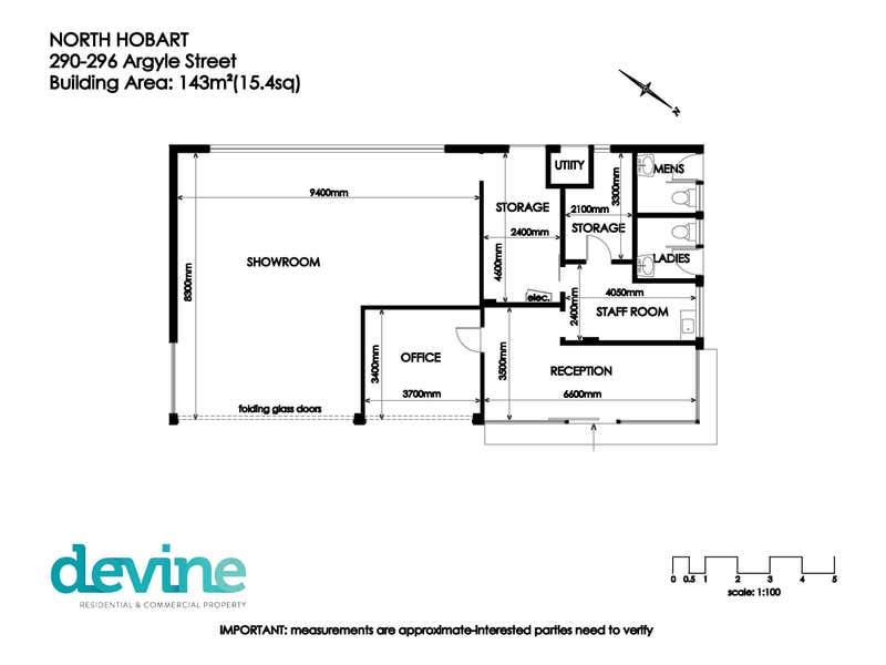 290-296 Argyle Street Hobart TAS 7000 - Floor Plan 1
