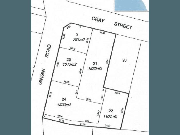 Lots 3, 21-24, 24 Gingin Road Lancelin WA 6044 - Floor Plan 1