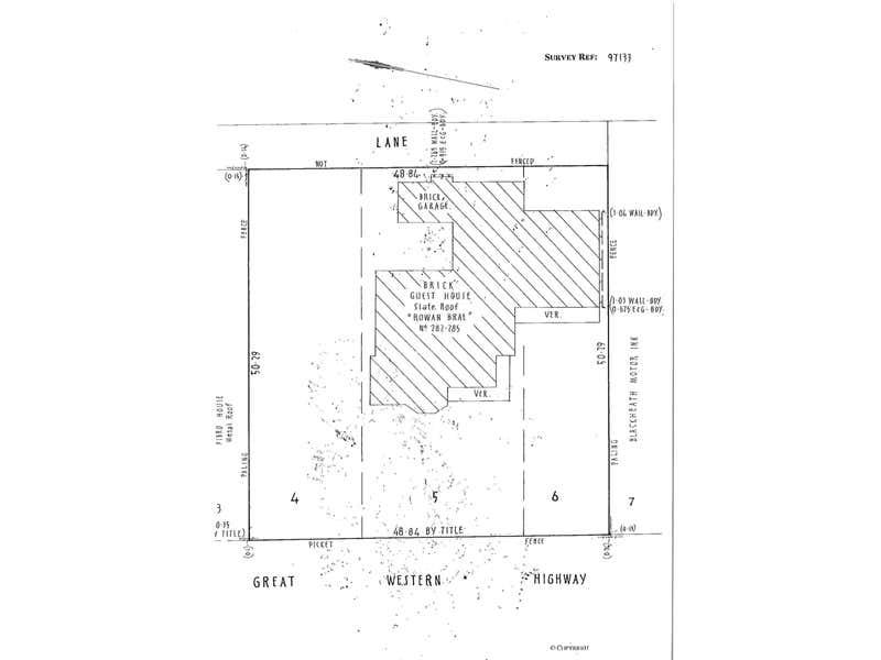 284 Great Western Highway Blackheath NSW 2785 - Floor Plan 2