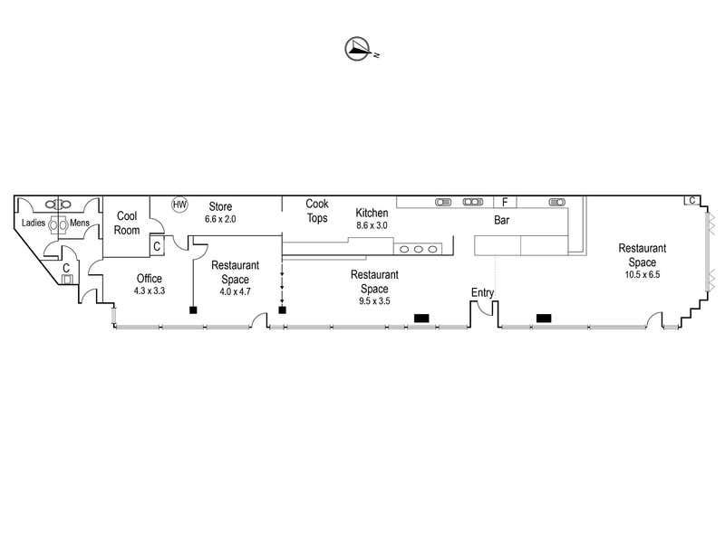 1/132-138 Upper Heidelberg Road Ivanhoe VIC 3079 - Floor Plan 1