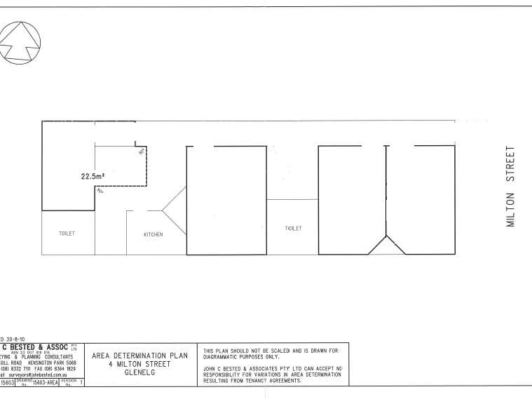 4 Milton Street Glenelg SA 5045 - Floor Plan 1
