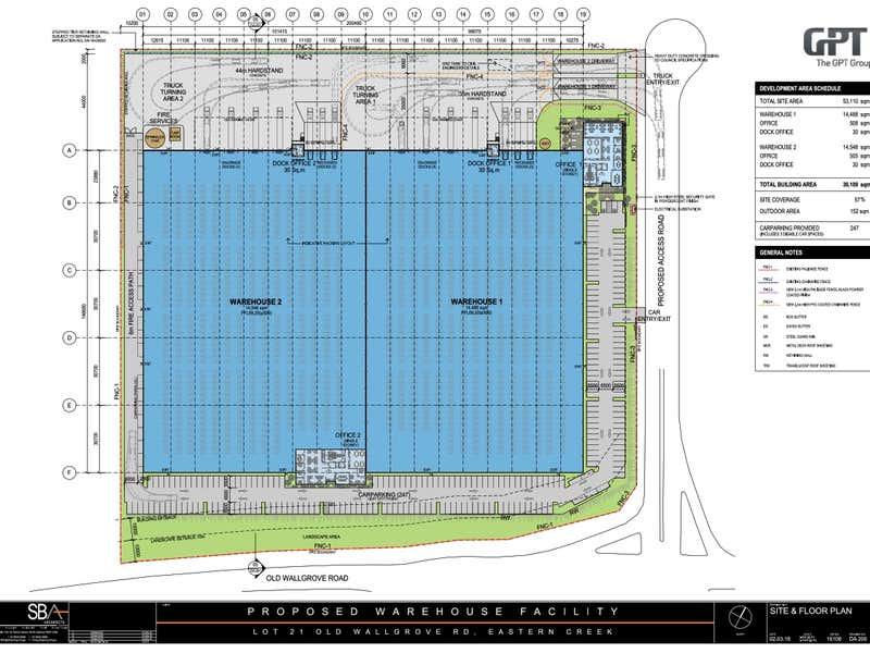 Lot 21 Old Wallgrove Road Eastern Creek NSW 2766 - Floor Plan 1