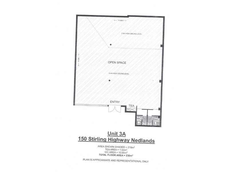 3A/150 Stirling Highway Nedlands WA 6009 - Floor Plan 1