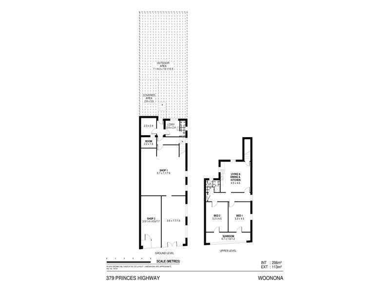 379 Princes Highway Woonona NSW 2517 - Floor Plan 1