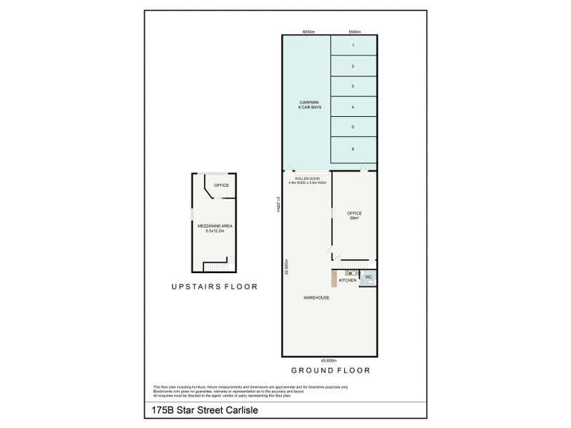 175B Star Street Carlisle WA 6101 - Floor Plan 1