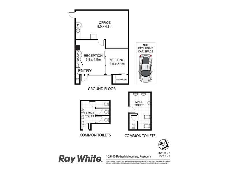 1c/6-10 Rothschild Avenue Rosebery NSW 2018 - Floor Plan 1