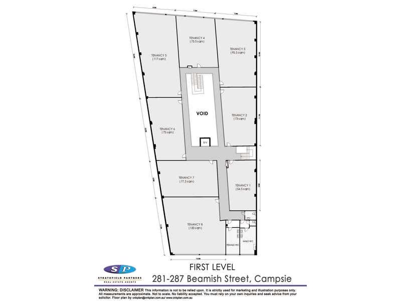 Office 6/281-287 Beamish Street Campsie NSW 2194 - Floor Plan 2