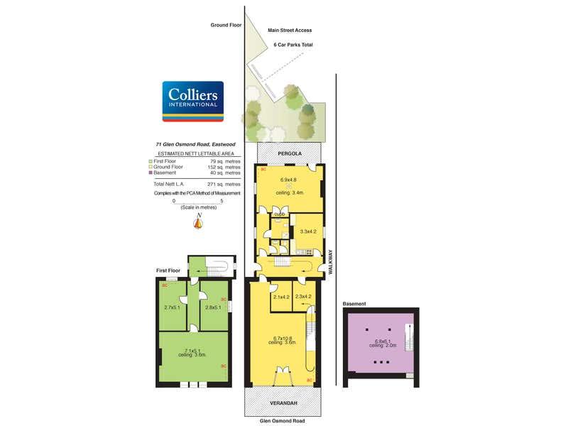 71 Glen Osmond Road Eastwood SA 5063 - Floor Plan 1