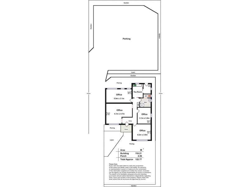 40  Hallett Road Stonyfell SA 5066 - Floor Plan 1