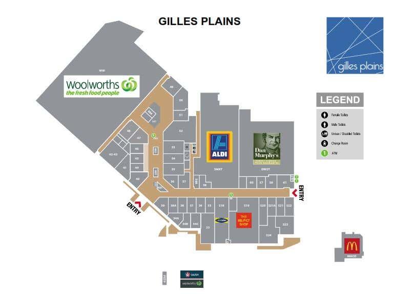 Gilles Plains Shopping Centre , 575  North East Rd Gilles Plains SA 5086 - Floor Plan 1
