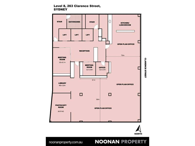 Level 8, 263 Clarence Street Sydney NSW 2000 - Floor Plan 2