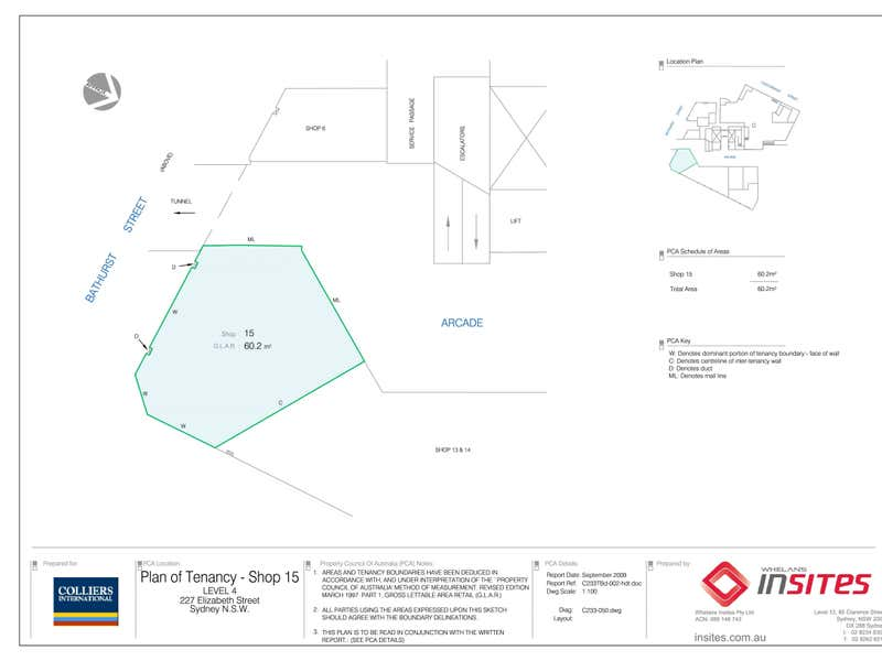 227 Elizabeth Street Sydney NSW 2000 - Floor Plan 1
