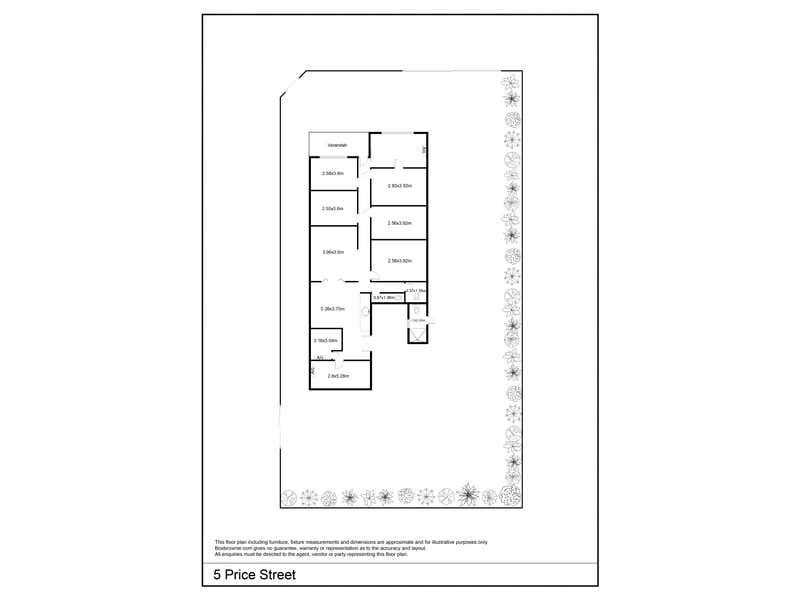 5 Price Street Melrose Park SA 5039 - Floor Plan 1