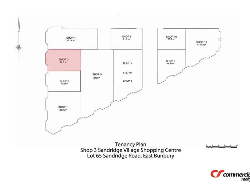Shop 3, Lot 65 Sandridge Road East Bunbury WA 6230 - Floor Plan 1