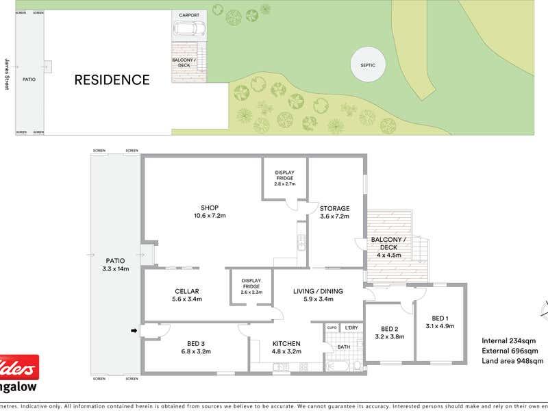 88 James Street Dunoon NSW 2480 - Floor Plan 1