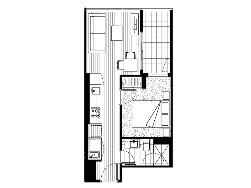 M10/288 Albert Street, Brunswick, Vic 3056 - floorplan