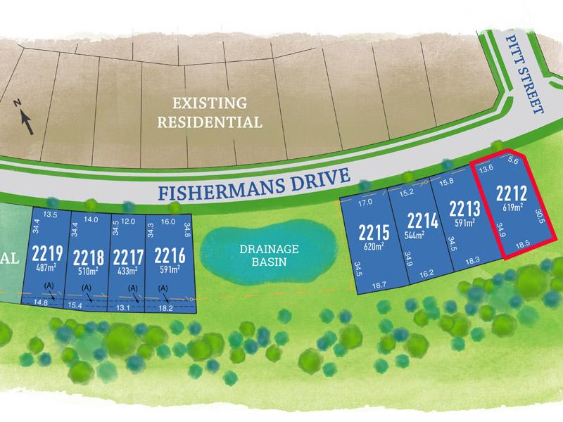 Lot 2212, Fishermans Drive, Teralba, NSW 2284