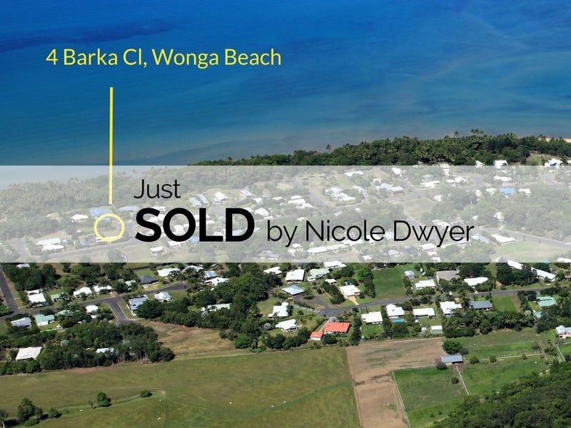 4 Barka Close, Wonga Beach, Qld 4873