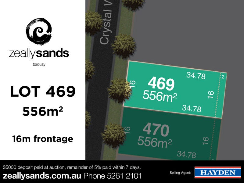 Lot 469 Zeally Sands  Estate, Torquay, Vic 3228