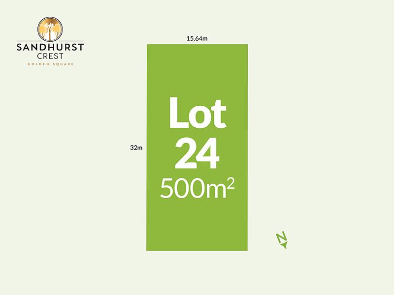 Lot 24, 134 - 166 Aspinall Street, Golden Square, Vic 3555