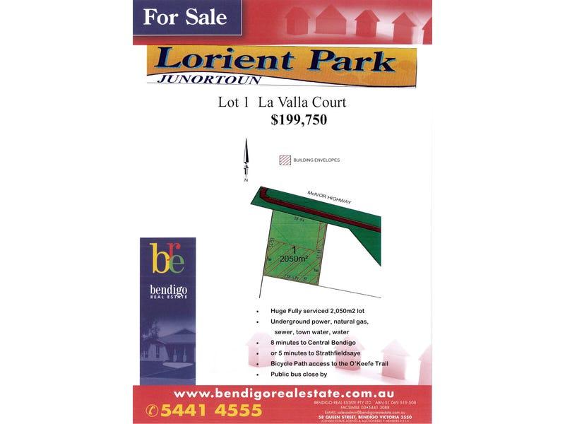 Lot 1 Lorient Park Estate, Junortoun, Vic 3551