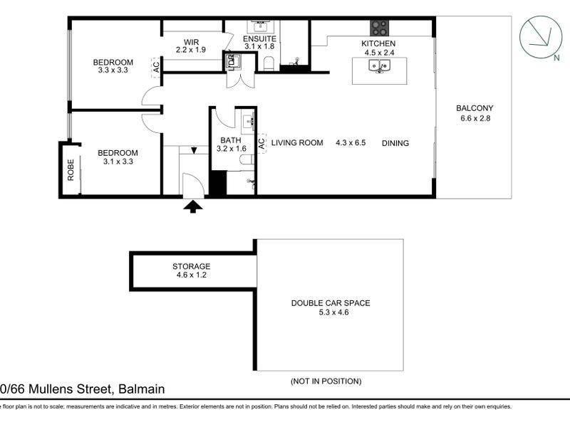 10/66 Mullens Street, Balmain, NSW 2041 - floorplan