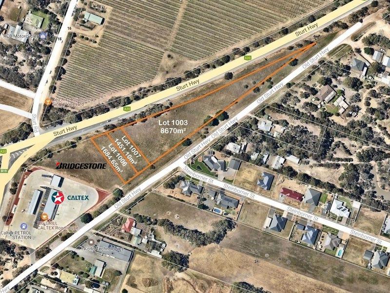 1003 & 1006 & 1007 Sturt Highway, Nuriootpa