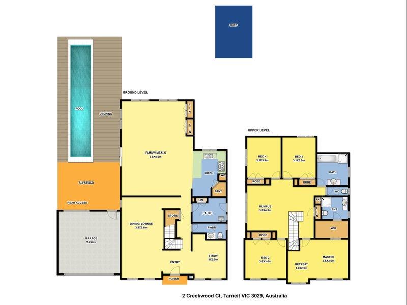2 Creekwood Court, Tarneit, Vic 3029 - floorplan