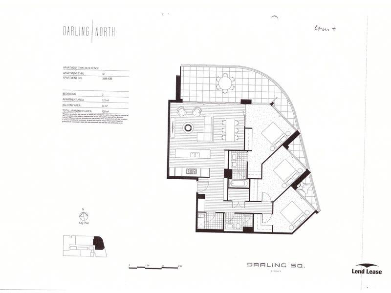 38M/NE3 Darling Square Harbour St Darling Harbour Street, Sydney, NSW 2000 - floorplan