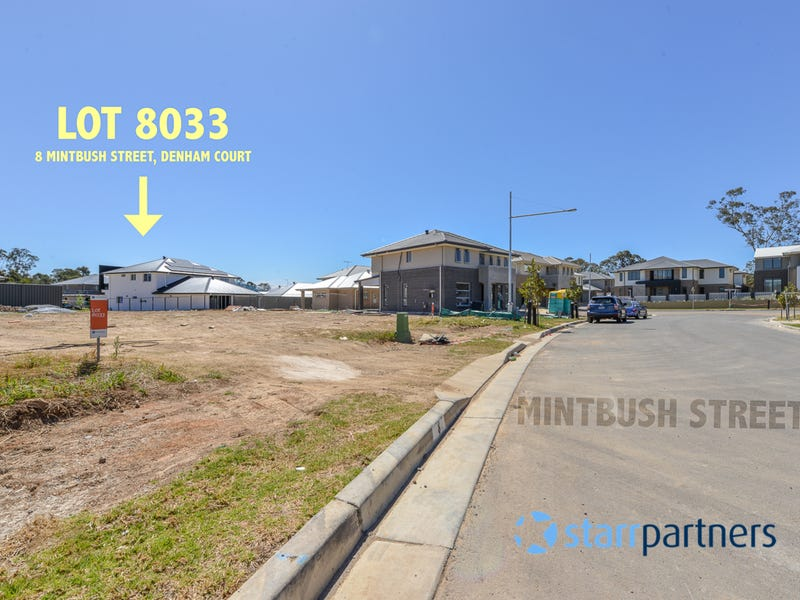 Lot 8033 Mintbush Street, Denham Court, NSW 2565