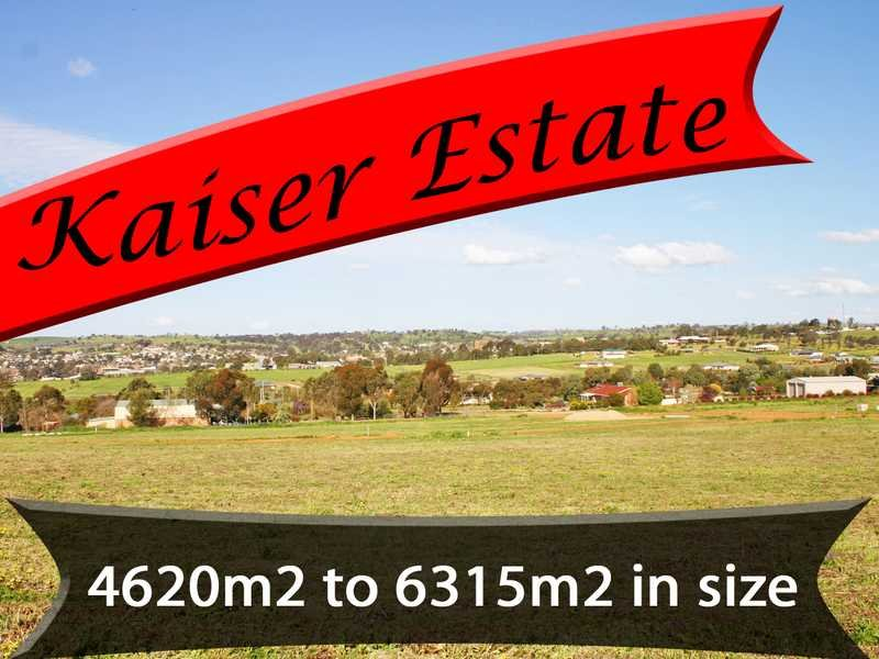Lots 1 to 27 Kaiser Est, Junee