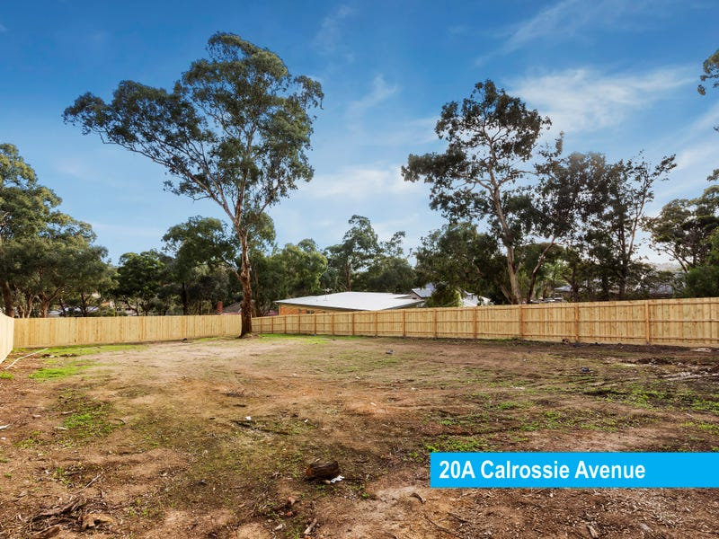 20A Calrossie Avenue, Montmorency, Vic 3094